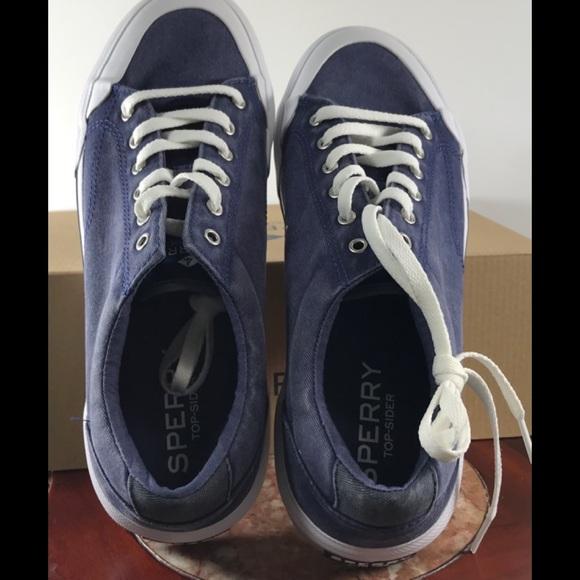 Sperry Other - Sperry Stripper II Retro Navy Sneakers